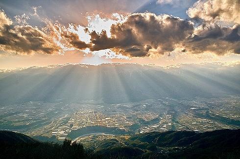 陣馬形山キャンプスペース1